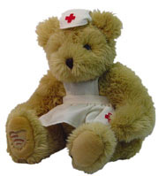 Bear Nurse Clara Voice Recordable Bear