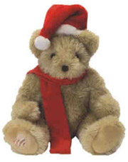 Golden Noel Christmas Recordable Bear