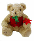 Christmas Golden Holiday Voice Recordable Bear