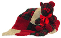 Holiday Cheer Voice Recordable Bear