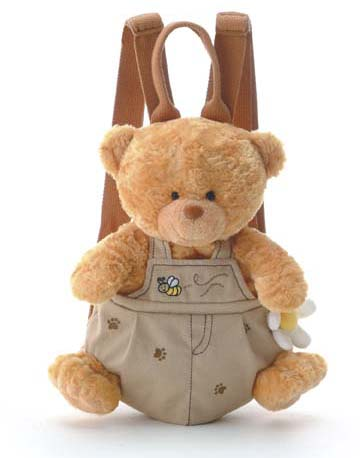 Paco Voice Recordable Backpack Bear