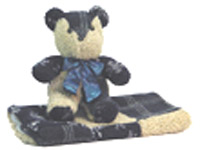 Snowflake Vocie Recordable Bear