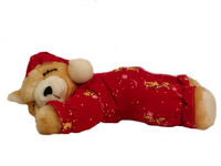 Snowflake Cubby Voice Recordable Bear